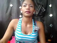 Ebony Girl Eating Scat