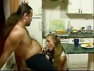 Petite Girlfriend Seduce Old Man In Kitchen By Lambodarchambodar