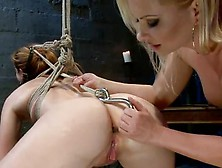 Lesbie Domination Together With Katja Kassin Making Love Claire