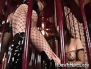 Two Locked Up Babes In Nylons