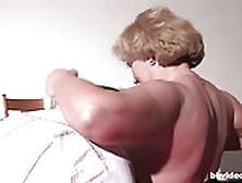 Bbvideo. Com German Grandma Gets Nailed