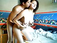 Steamy Teeny Couple Fucking Boisterously On Webcam