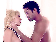 Dainty Blonde Pornstar With Big Tits Screams While Getting A Rou