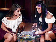 Adria Rae And India Summers Eating Each Other's Peaches Voraciou