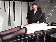 Racked Amateur Slave In Hardcore Bdsm And Nipple Tortured
