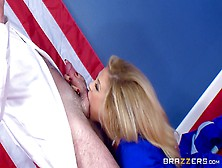 Top Blonde Leads Hot Male In Fucking Her Hard And With Lust