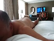 Spank Me Hard On This Hotel Bed