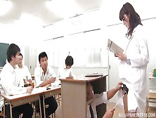 Japanese Teacher Harassed In The Classroom