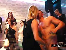 Nasty Nymphos Get Entirely Insane And Stripped At Hardcore Party
