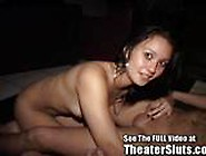 Daring Teen Pounded In Porn Theatre