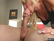 Blonde Granny Loves Young Cock In The Butt