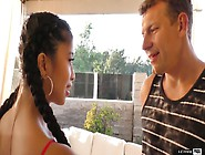 Mouth Watering Asian Babe With Pigtails Jade Kush Is Fond Of Har
