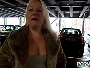 Mature Blonde Public Pissing