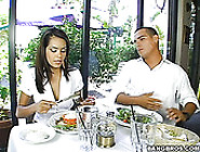 Romantic Slim Brunette Daisy Marie Repays For Dinner With A Blow