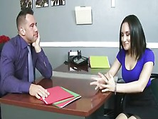Boss Disciplines Employee