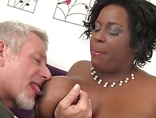Jeff's Models - Sexy Black Plumper Marliese Morgan Gets Fucked H