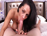 Busty Cougar With Dark Hair Has Anal Sex In Pov Style