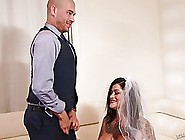 Dirty Bride,  Juliana Rose Is Getting Fucked In Her Wet Pussy,  By