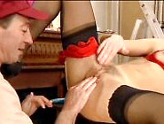 Xxx Tube Mature Gets Fisting For Cum