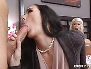 Riley Jenner And Bianca Breeze Anal Threesome