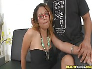 Dazzling Shaved Black Anjelyze Is Making A Best Blowjob Of My Li