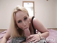 Single Mom Loves Filming Her Big Breasts Getting Covered In Cum