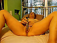 Mature Amateur Lady Toying Her Meaty Pussy To Orgasm
