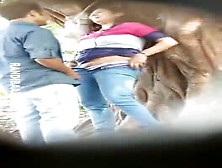 College Couple Outdoor Sex Hidden Cam Capture Mms