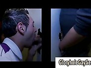 Gay Sucks Amateur Cock At Gloryhole