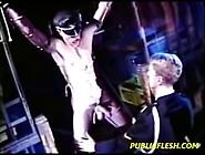 Classic Leather Gay Bondage By Alexa16