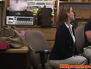 Busty Reality Babes Pawnshop Proposition