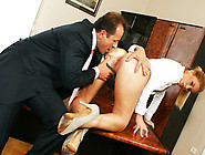 Mature Babe Brooklyn Lee Has Rough Sex In The Office