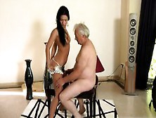 Veronika jane and homeless disabled handicap man 7