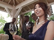 Japanese Bombshell For Bbc Gangbang Party