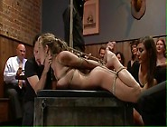 Whore Used And Degraded In A Bar Part 02