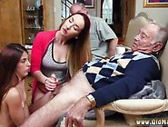 Big Tit Teen Old Men And Old Bald Guy Gangbang Fucking Cumshots