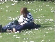 Voyeur Captures Handjob In The Park-1. Flv