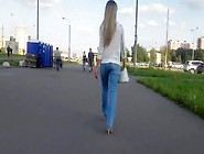 Russian Glamour Blondes Ass