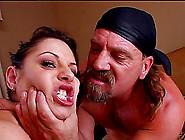 Porn Star With Big Gorgeous Tits Enjoying A Hardcore Mmf Threeso