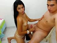 Beautiful Big Ass Latina Fucking On Cam