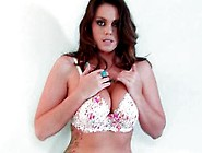 Big Titted Brunette Alison Tyler Teasing The Camera
