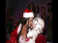 Horny Santa Fucks All Bad Girl Around