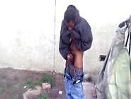 Mendigo Negro Forçado A Bater Punheta