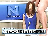 Pretty Japan Newscaster Bukkake And Fuck
