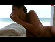 Extrem Notgeil! Beim Sex Am îffentlichen Strand Erwischt!