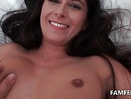 Small Tits Cutie Gets Fingered In Pov Close-Up