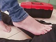 Jennifer Dark Enjoys Nasty Footsex