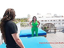 Big Titted Woman With Black Hair,  Angelina Castro Likes To Get F