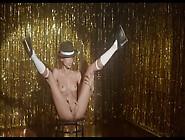 Stripper Masturbates On Stage As He Strokes