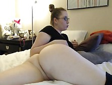 Babe,  Glasses,  Pussy,  Boobs.  Watch Part2 On Flirtsexlove. Com